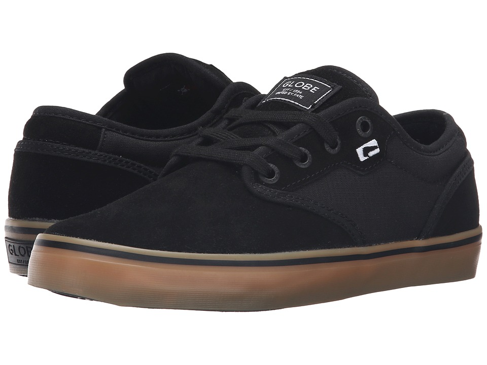Globe Motley (Black/Black/Gum) Men