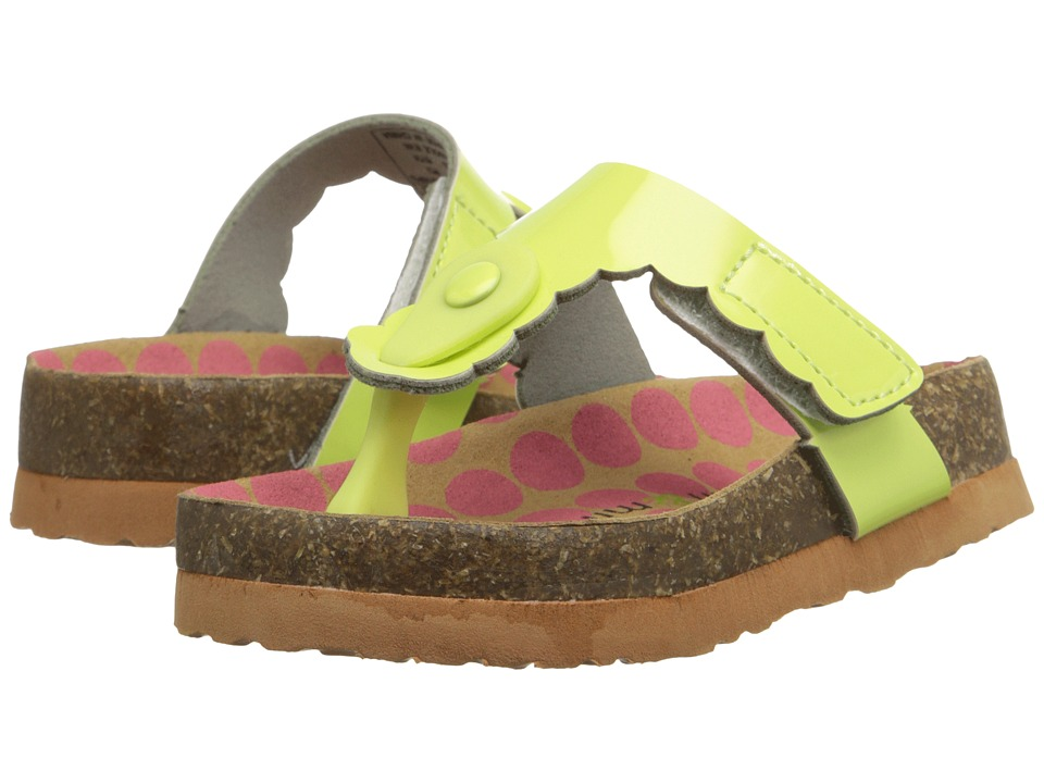 MorganampMilo Kids AB Special Toddler/Little Kid Lime Girls Shoes
