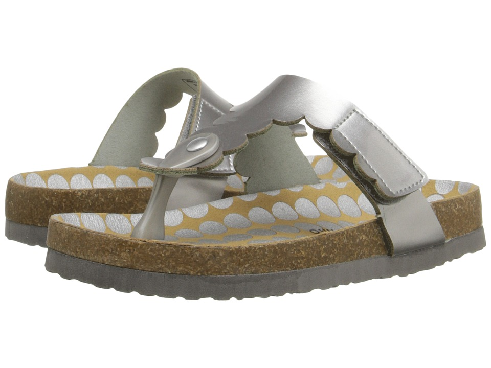 MorganampMilo Kids AB Special Toddler/Little Kid Silver Girls Shoes