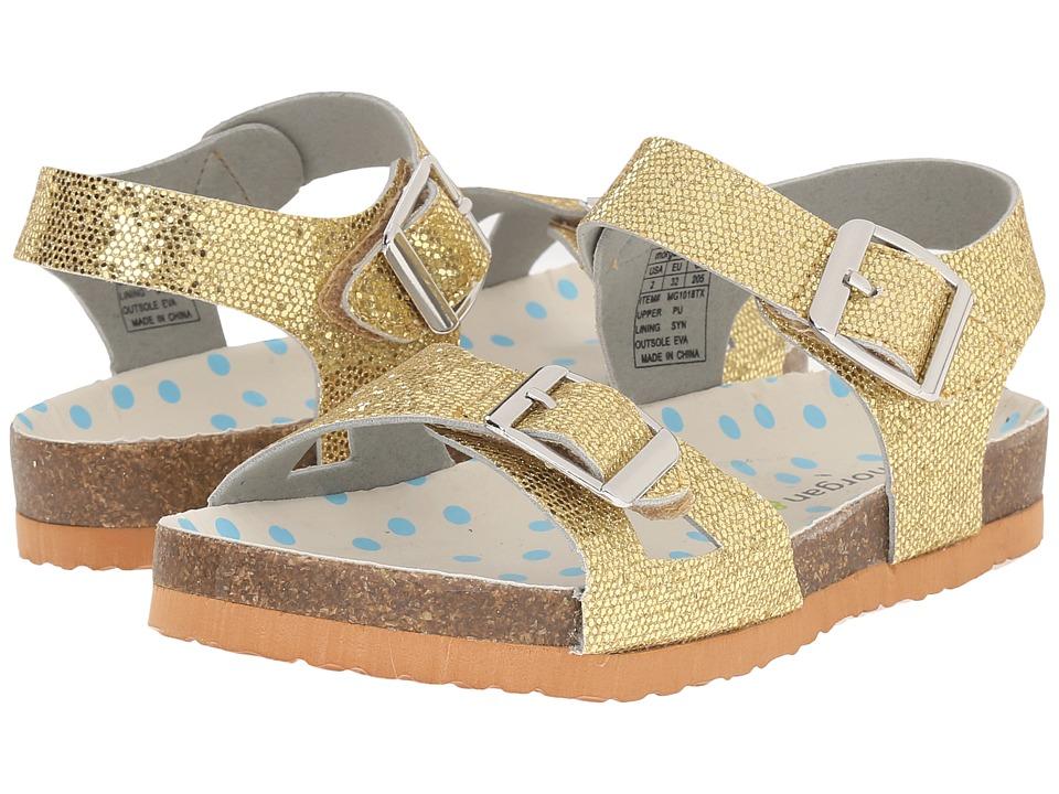 MorganampMilo Kids Bayou Toddler/Little Kid Gold Girls Shoes