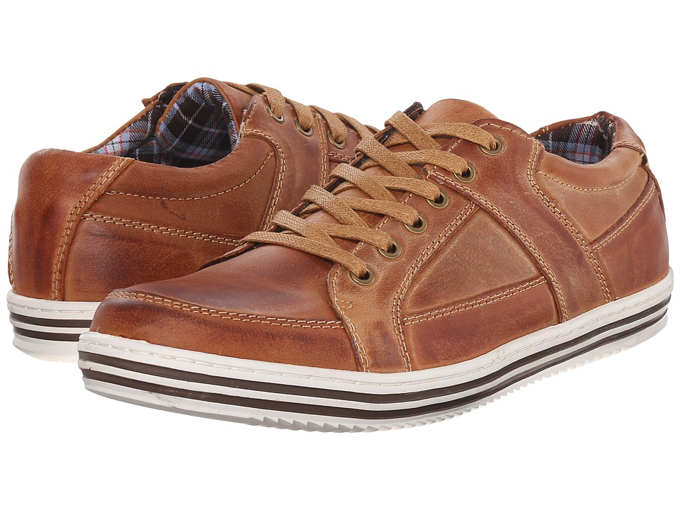 Steve Madden Ropperr Tan Mens Lace up casual Shoes