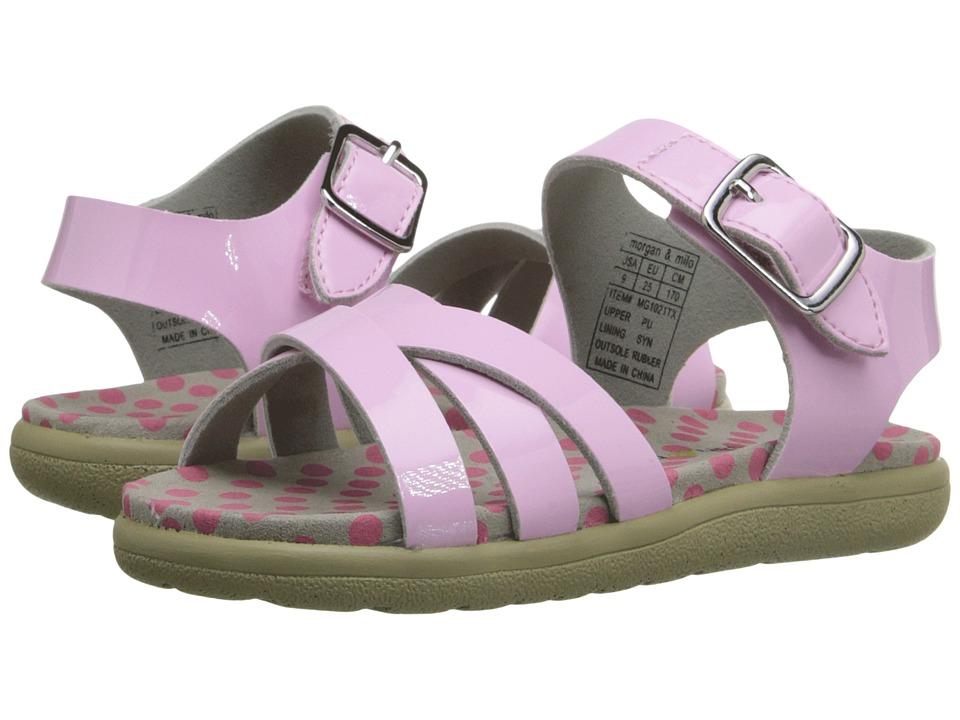 MorganampMilo Kids Mina Sandal Toddler/Little Kid Pale Pink Girls Shoes