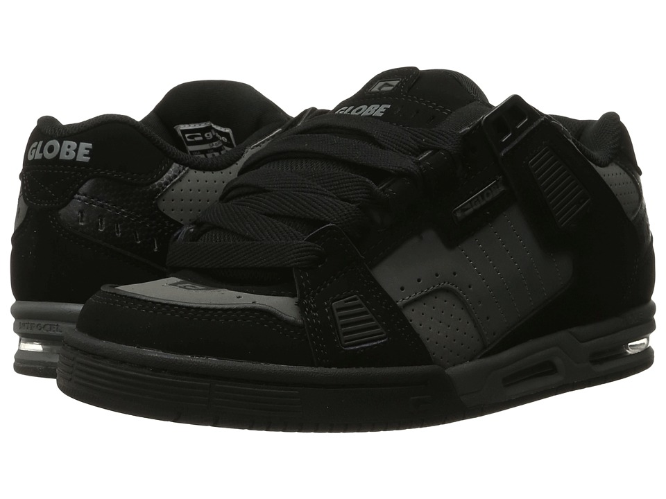 Globe - Sabre (Black/Gunmetal Grey) Mens Skate Shoes