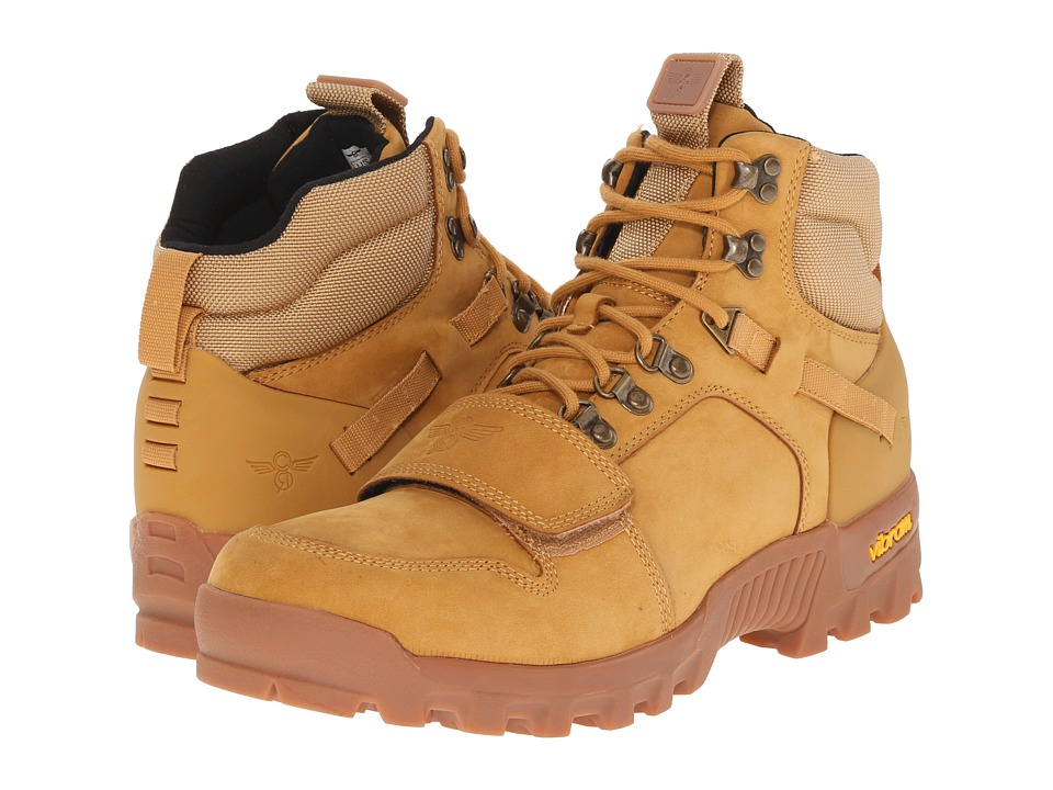 Creative Recreation Dio Wheat/Gum Mens Lace up Boots
