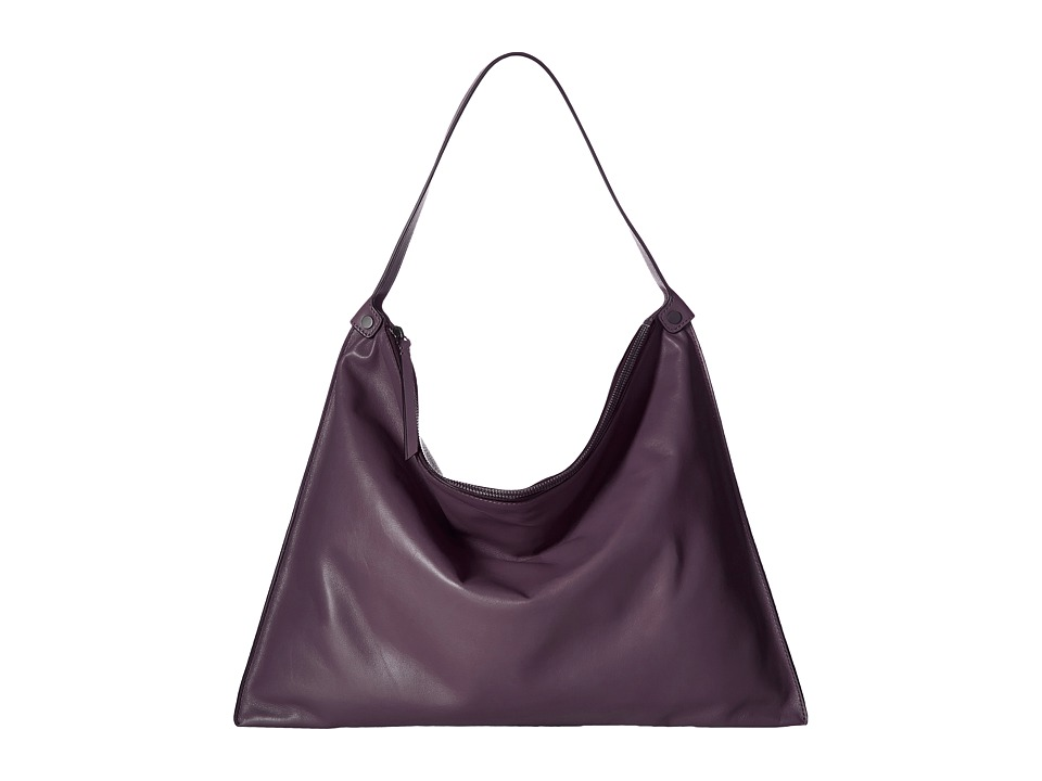 ECCO - Sculptured Shoulder Bag (Mauve/Mauve) Shoulder Handbags