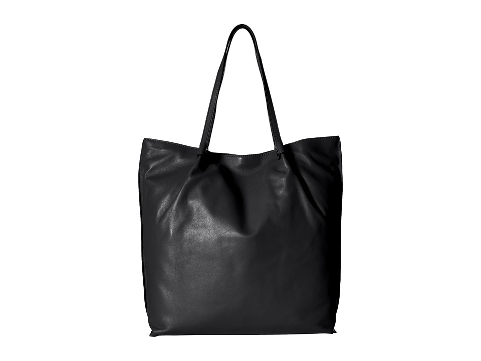 ECCO - Sculptured Tote (Black) Tote Handbags