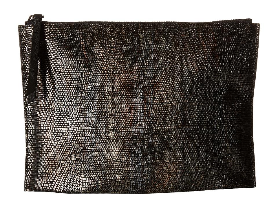 ECCO - Izzard Clutch (Multicolor/Black) Clutch Handbags