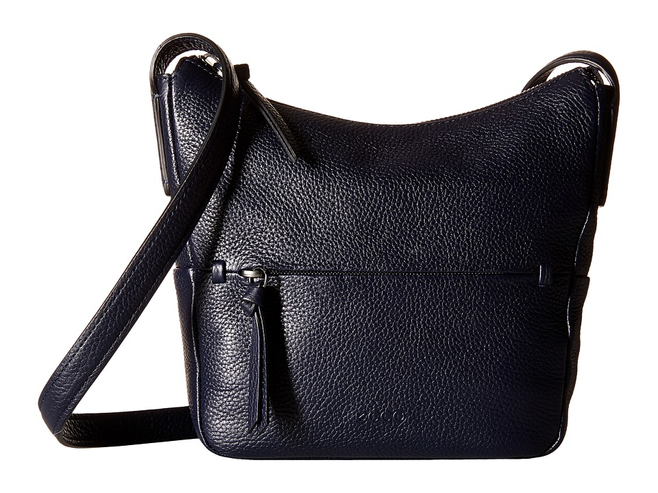 ECCO - SP Small Hobo Bag (Navy/Blue) Hobo Handbags