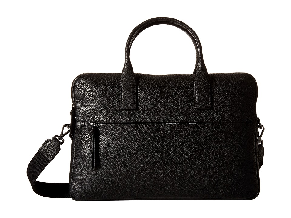 ECCO - SP Slim Briefcase (Black) Briefcase Bags