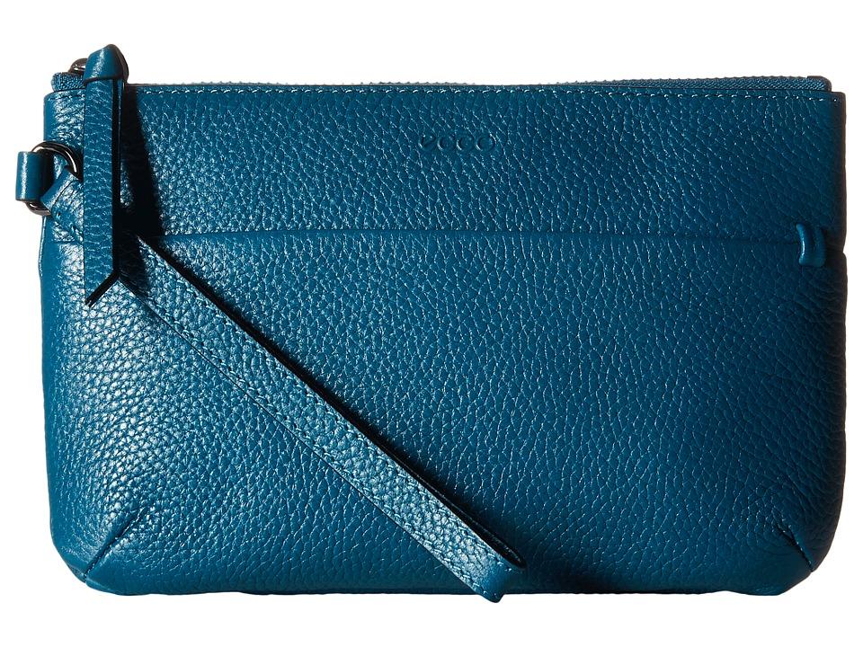 ECCO - SP Wristlet (Teal) Wristlet Handbags
