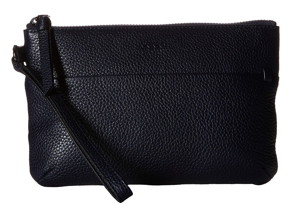 ECCO - SP Wristlet (Navy/Blue) Wristlet Handbags