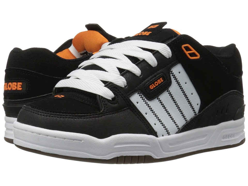 Globe - Fusion (Black/White/Orange) Men