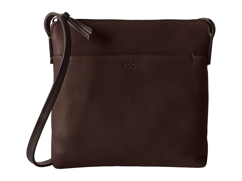 ECCO - Handa Crossbody (Espresso) Cross Body Handbags