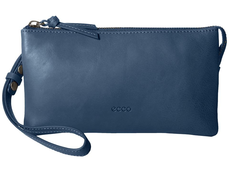 ECCO - Handa Clutch Wallet (Poseidon) Wallet Handbags