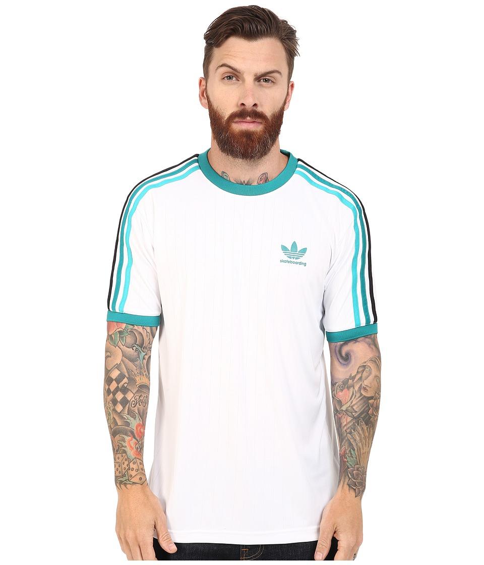 adidas Skateboarding - Clima Club Jersey (White) Men