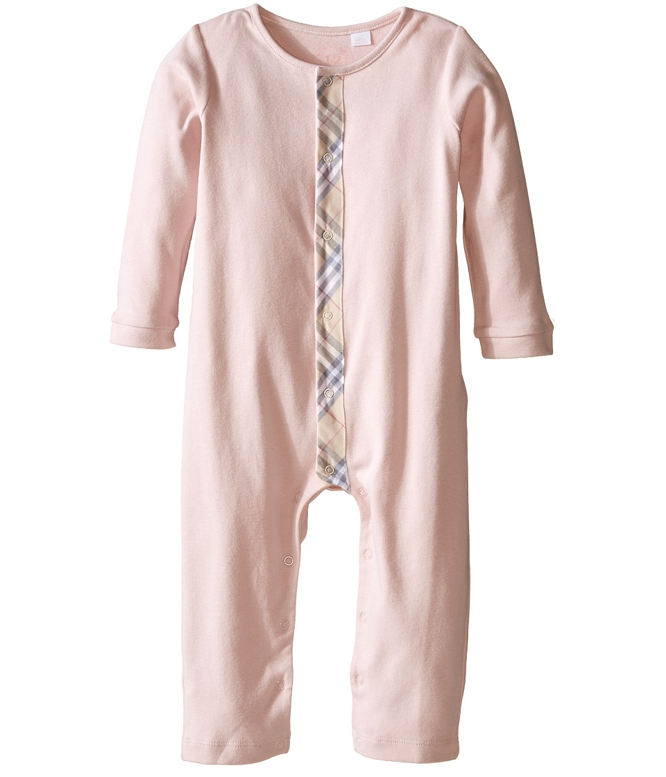 Burberry Kids Merry Set Infant/Toddler Powder Pink Girls Jumpsuit Rompers One Piece