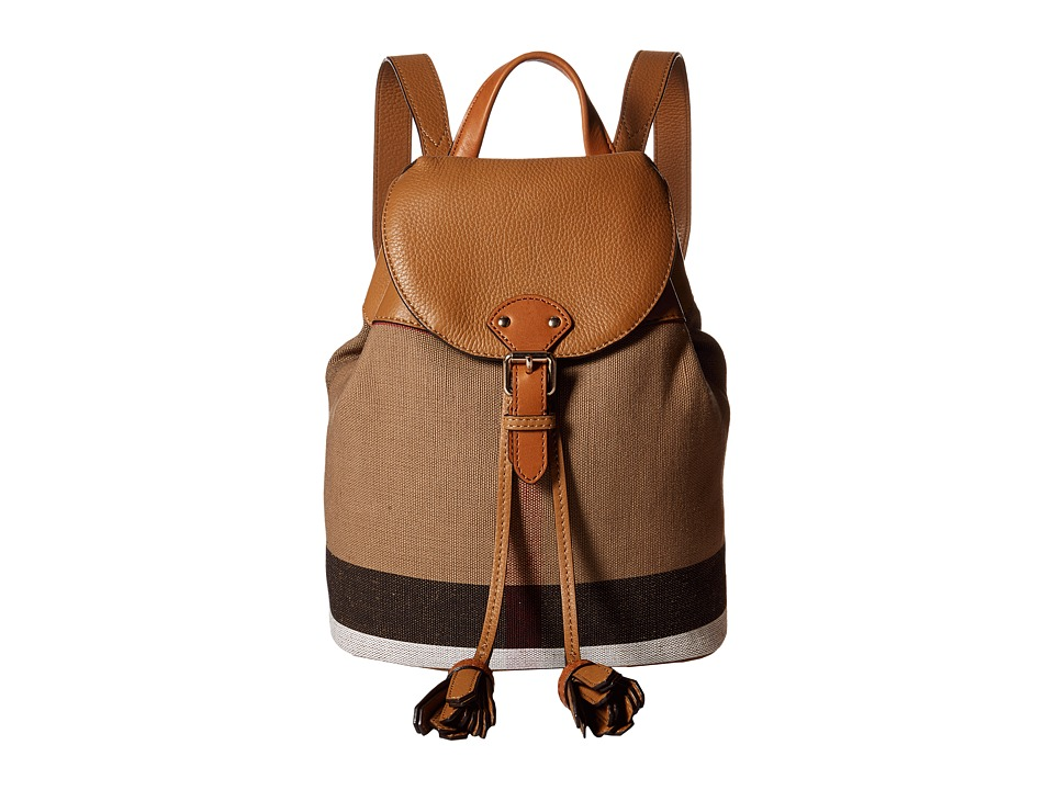 Burberry Kids Mini Backpack (Sand) Backpack Bags