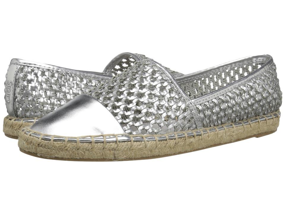Circus by Sam Edelman Lena Soft Silver Womens Flat Shoes