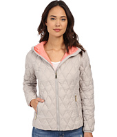 MICHAEL Michael Kors - Zip Front Hooded Lightweight Down M822107R