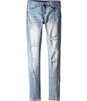 Blank NYC Kids - Light Denim Distressed Skinny Jeans in Secret Box (Big Kids)
