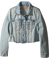 Blank NYC Kids - Crop Denim Jacket in Karaoke (Big Kids)