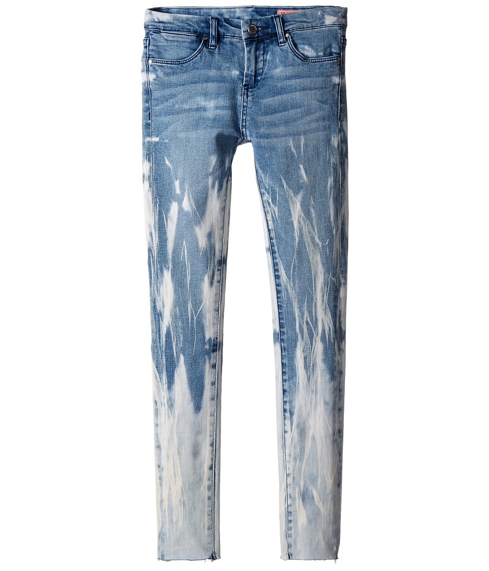 Blank NYC Kids Denim/Blue Detail Splattered Jeans in Life Coach Big Kids Blue/White Girls Jeans