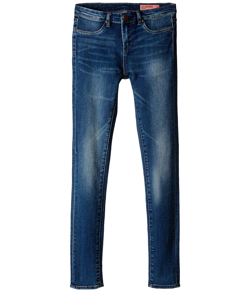 Blank NYC Kids Denim Skinny Jeans in All Day (Big Kids) (Blue) Girl