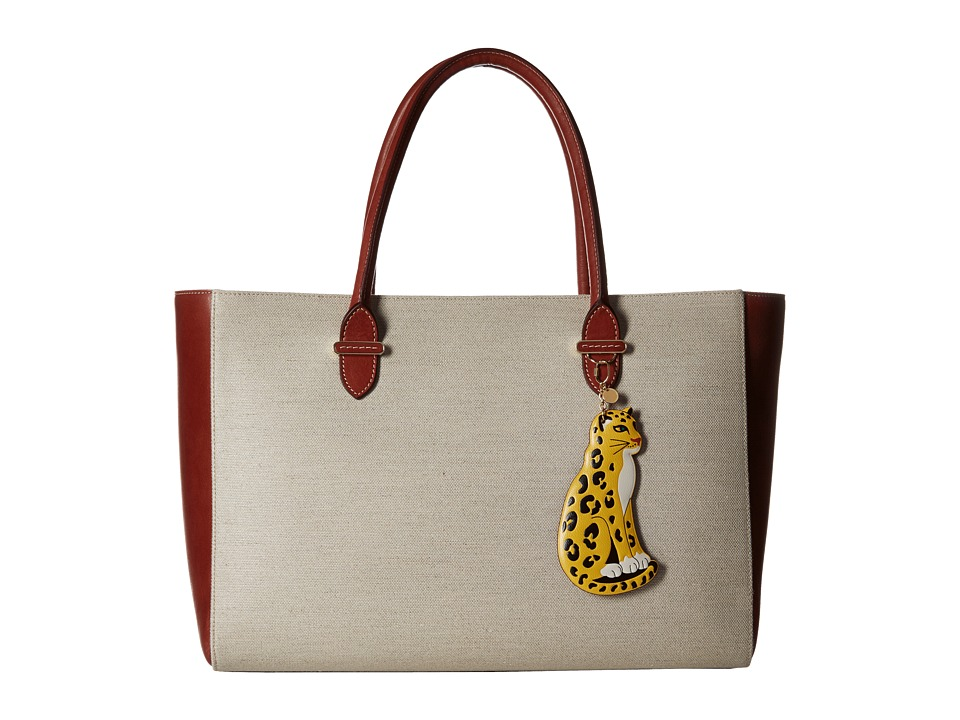 Charlotte Olympia Brando Rust/Natural Bags