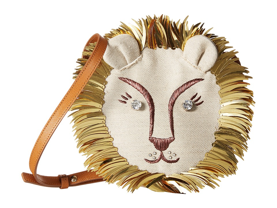 Charlotte Olympia Leo Natural/Gold Bags
