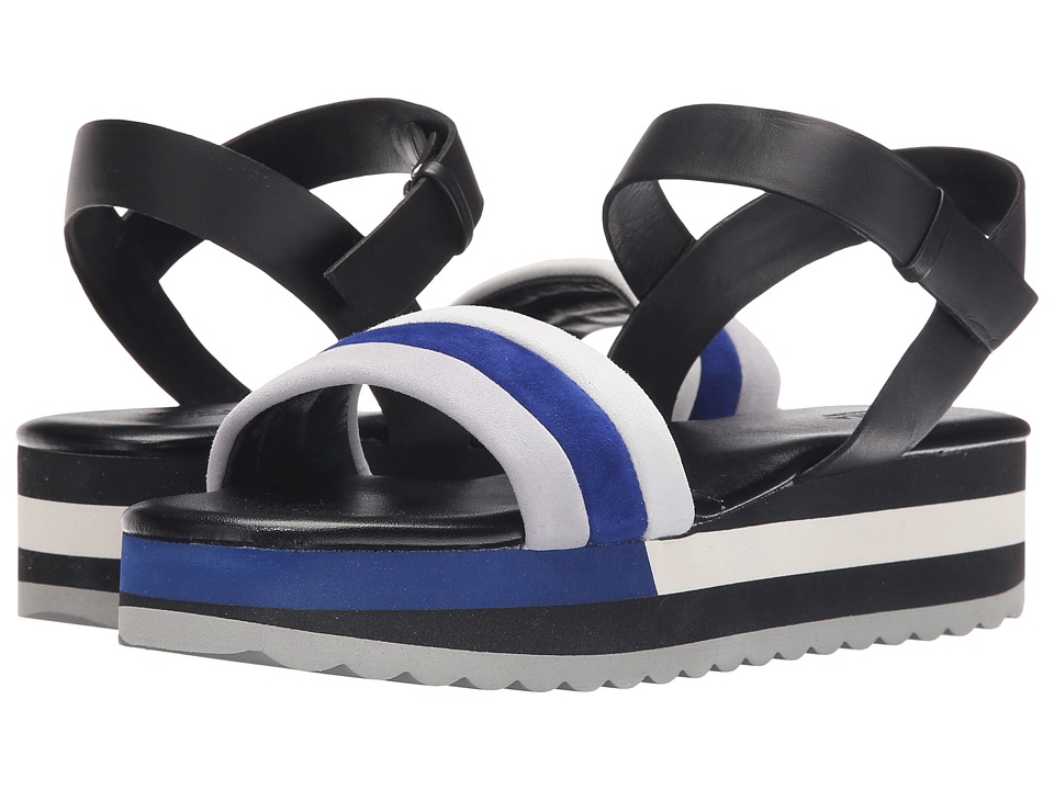 Furla Galatea 35mm Marmo/Onyx Suede/Vitello Womens Sandals