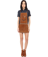 DSQUARED2 - Calf Leather Maylea Leather Saloupette Dress