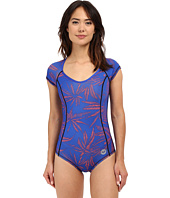 Roxy - Polynesia Short Sleeve One-Piece Swimsuit
