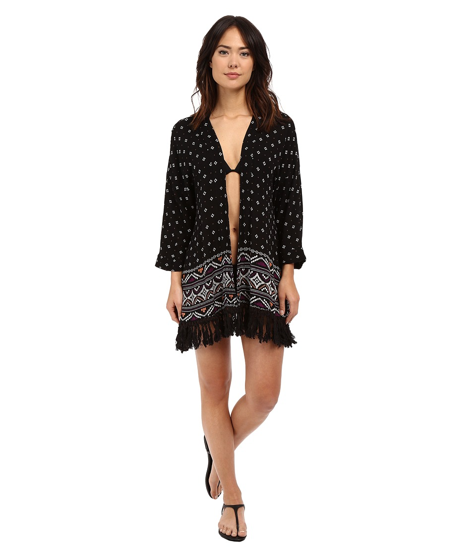 Roxy Dreamin Beach Kimono Cover Up Dreamin Beach Kimono ID Womens Swimwear