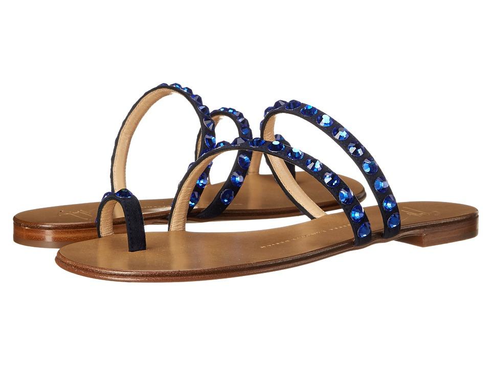 Giuseppe Zanotti E60257 Cam Navy Womens Shoes
