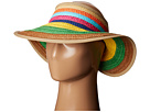 San Diego Hat Company - PBV007 Paper Braid Adjustable Roll Up Visor with Ribbon Edge