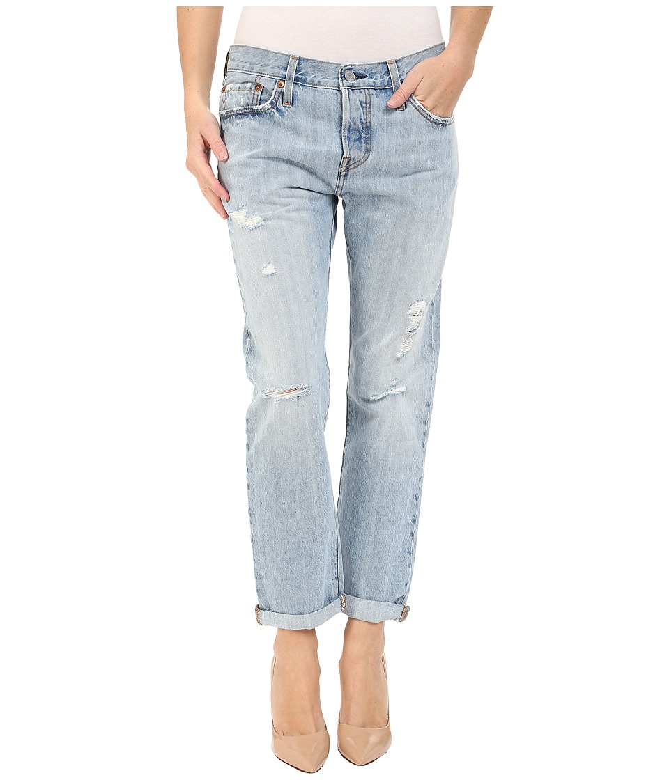 Levis(r) Womens - 501(r) Customized and Tapered Jeans (Turbulent Indigo) Womens Jeans