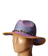 San Diego Hat Company - MXM1023 Panama Fedora Hat with Beaded Trim