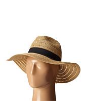San Diego Hat Company - UBM4454 4 Inch Brim Panama Fedora Hat with Gold Lurex Specs