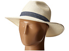 San Diego Hat Company UBM4457 Panama Fedora Hat with Chambray Band