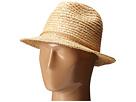 San Diego Hat Company RHF6117 Fedora Hat with Turquoise Trim