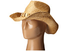 San Diego Hat Company RHC1078 Raffia Cowboy Hat with Beaded Band