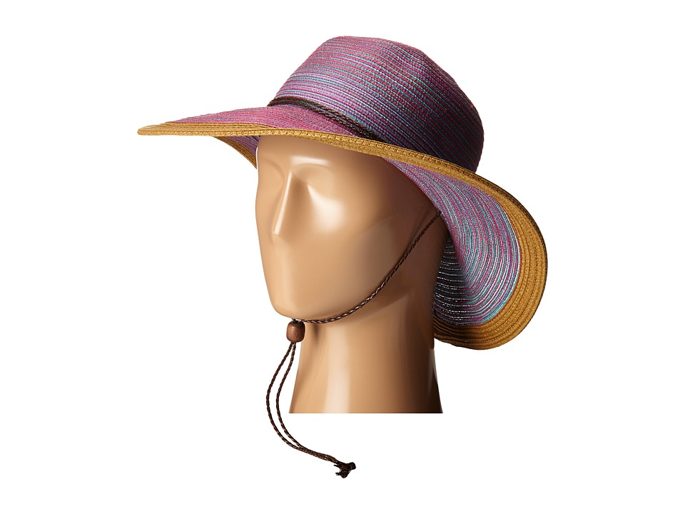 San Diego Hat Company - MXM1022 4 Inch Brim Sun Hat with Adjustable Chin Cord (Purple) Caps