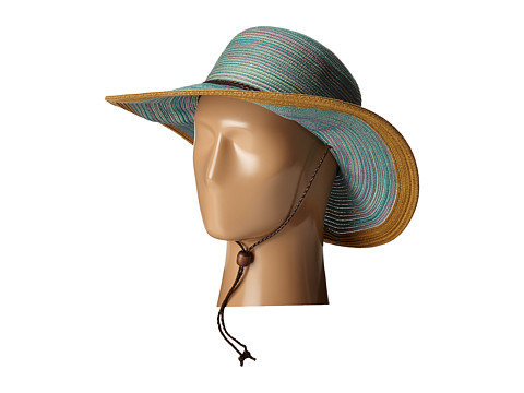 San Diego Hat Company MXM1022 4 Inch Brim Sun Hat with Adjustable Chin Cord - Teal