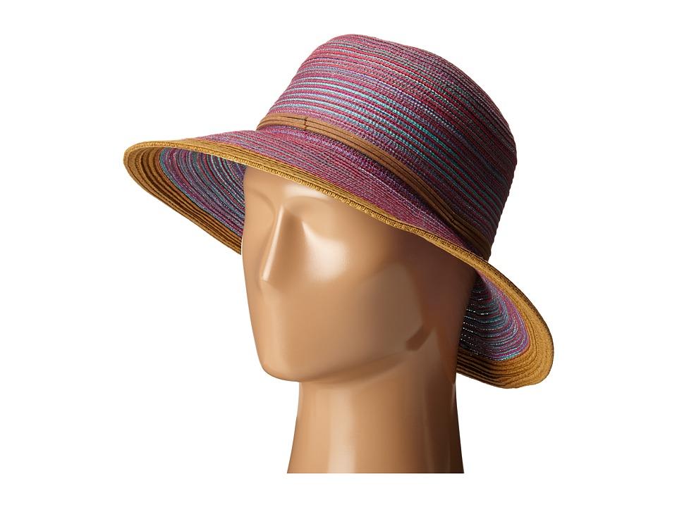 San Diego Hat Company - MXM1015 4 Inch Brim Sun Brim Hat (Purple) Caps