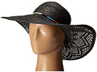 San Diego Hat Company PBL3067 Round Crown Floppy Sun Hat with Multicolor Thread Beads