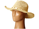 San Diego Hat Company PBC2445 Cowboy Hat with Wired Brim and Shell Trim