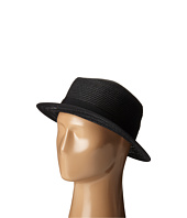 San Diego Hat Company - UBS1512 Boater Hat with Open Weave and Grossgrain Ribbon