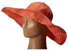 San Diego Hat Company RBXL291 6 Inch Brim Gold Shimmer Ribbon Hat with Wired Sun Brim