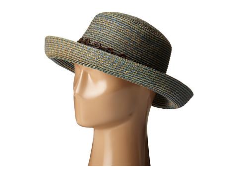 San Diego Hat Company UBM4451 3 Inch Brim Kettle Brim Sun Hat - Blue