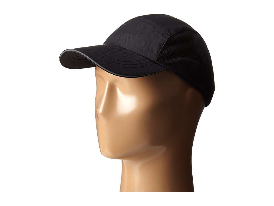 San Diego Hat Company - CTH8020 Running Cap with Vented Mesh Side (Black) Baseball Caps